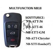 KEYDIY NB18 RADIOCOMANDO Multifunction 4 tasti