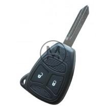Guscio Chrysler 2 tasti grandi, Lama Profilo CY22 (senza tasti in gomma)
