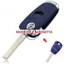 Fiat modifica a baionetta 1 tasto sip22 blu