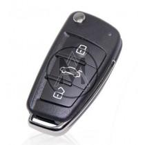 Audi 3tasti con radiocomando 868mhz. con chip 8E