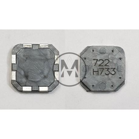 induttanza - antenna quadrata  VALORE:  X 7.2mh   Y 7.2mh   Z 10.6mh