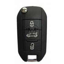 Peugeot 3 tasti PFC7941 ( HITAG2 ) 433MHZ. FSK