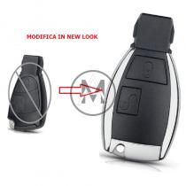 Mercedes MODIFICA NEW LOOK  2 tasti guscio completo