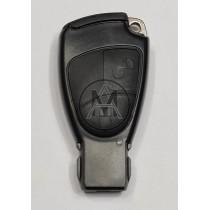 Mercedes chiave con radiocomando 2 tasti 433 mhz. NEC