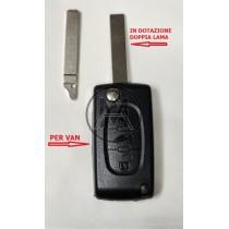 0523 FSK 3 TASTI (TASTO VAN)  Peugeot Expert / Citroen Dispatch