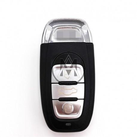 Audi con radiocomando  3 tasti  868mhz. KEYLESS GO