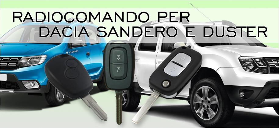 Radiocomando per Dacia Sandero e Duster