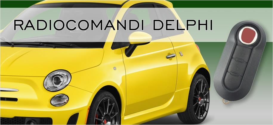 Radiocomandi emulatori Fiat Delphi
