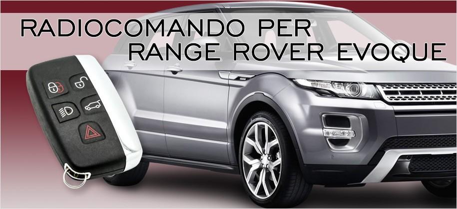Radiocomando per Range Rover Evoque