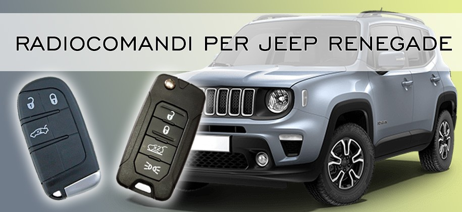 Radiocomandi per Jeep Renegade